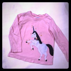 Hanna Andersson - size 4 unicorn shirt